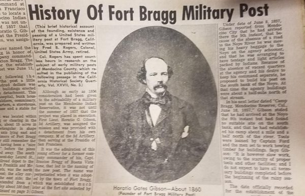 Fort Bragg history Part I