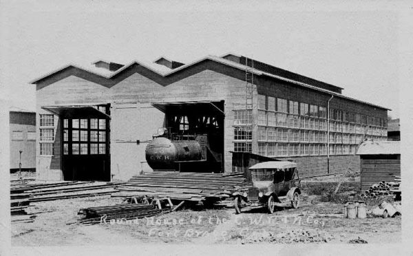 CWR Enginehouse when it was new