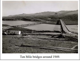Ten Mile Bridge in 1949