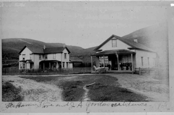 DeHaven store and a residence