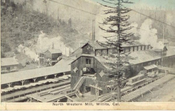 North Western Mill located in what is now Brooktrails