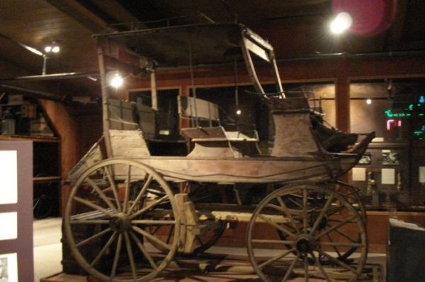 Stagecoach in the County Museum in Willis